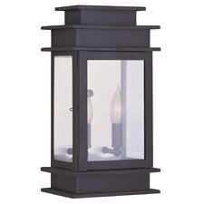 Princeton 2 Light Outdoor Wall Lantern