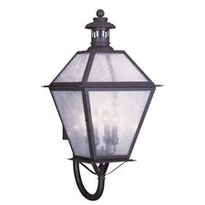 Waldwick 4 Light Outdoor Wall Lantern