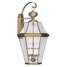 Georgetown 4 Light Outdoor Wall Lantern