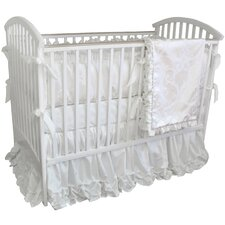 Arabesque 4 Piece Crib Bedding Set with Mobile