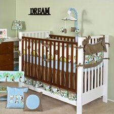 Bam Bam 4 Piece Crib Bedding Set