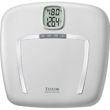 Body Fat Digital Bath Scale with White Platform