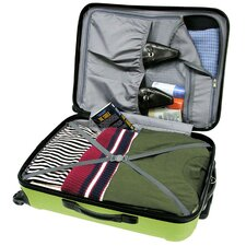 Freedom 3pc Lightweight Hard Shell Spinning/Rolling Travel Collection in Apple Green