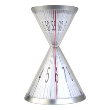 Hourglass Desk Clock