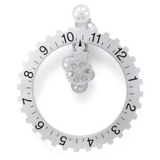 Big Wheel Hour Wall Clock