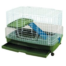 Clean Living 2 Level Small Animal Cage - Medium