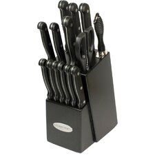 Contemporary 15 Piece Knife Block Set
