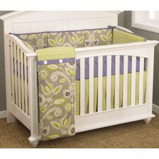 Periwinkle 4 Piece Crib Bedding Set
