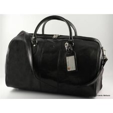 "Verona 21"" Italian Leather Duffel"