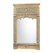 Guilford Mirror in Bleached Wood