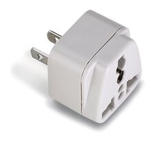 Lewis N. Clark Americas Adapter Plug with Universal Receptacle
