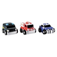 GoGo City Rescue Vehicle (Set of 3)