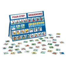 Four-Step Sequencing Tabletop Pocket Chart