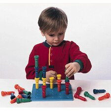 Tall-stacker Pegboard Big-little 8