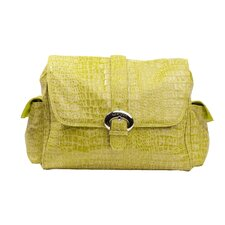 Crocodile Water Repellant Buckle Bag