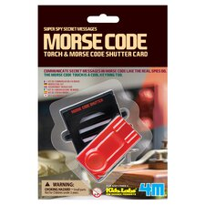 Morse Code Torch and Shutter Card