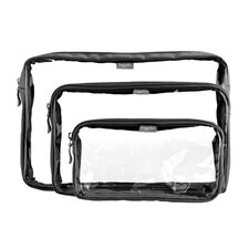 Clear Trio Bag (Set of 3)