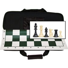 Tournament Chess Set with Canvas Bag
