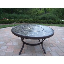 "Stone Art 44"" Chat Coffee Table"
