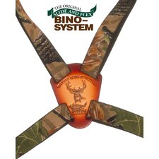 Bino System Binocular Harness in Real Tree Camouflage