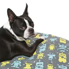 Mr. Roboto Round Dog Duvet