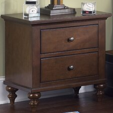 Abbott Ridge 2 Drawer Nightstand