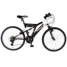 Boys Ranger Dual Suspension Off-Road Bike