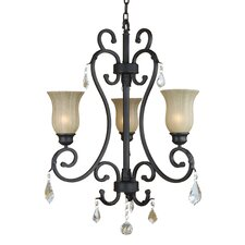 Jessica 3 Light  Chandelier