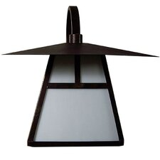 Incline 1 Light Outdoor Wall Lantern