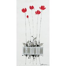 Tulips Planted Canvas Art