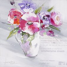 Revealed Artwork Floral Summer I Wall Art