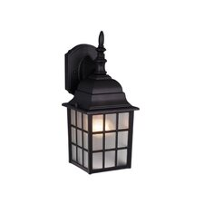 Vista 1 Light Outdoor Wall Lantern