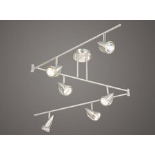 Swing 6 Light Track Bar Light