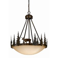 Bryce 4 Light Inverted Pendant