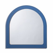 Framed Keystone Mirror