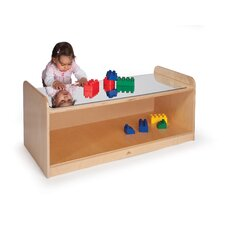 Childrens Table with Mirror Top