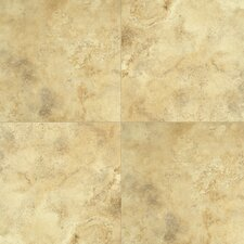 Quadra Natural Stone 8mm Tile Laminate in Golden Cream