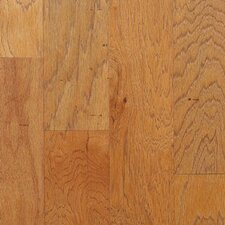 "Mountain Hickory Rustic 5"" Engineered Hickory Flooring in Haversack"