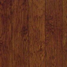 "Dellamano 6-1/4"" Engineered Hickory Flooring in Campari"