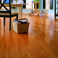"Jacks Creek 2-1/4"" Solid Red Oak Flooring in Butterscotch"