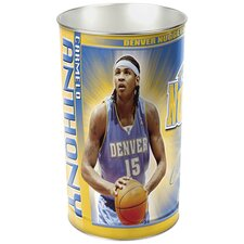NBA Tapered Wastebasket - Dallas Mavericks - Dirk Nowitzki