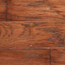 "Gevaldo 5"" Engineered Hickory Flooring in Tobacco"