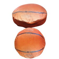 Round Basketball Dog Bed