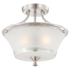 Patrone 2 Light Semi Flush Mount
