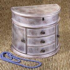 Jolie Jewelry Chest in Silver
