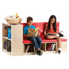 Modular Library Storage with Seat