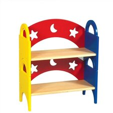 Moon & Stars Stacking Bookshelf
