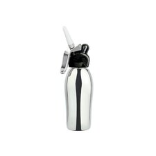 Dessert Chef 1 Pint Cream Whipper in Black Stainless Steel