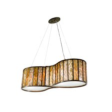Affinity 4 Light Drum Foyer Pendant
