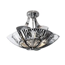 Blade Stunner 3 Light Semi-Flush Mount